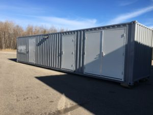 40' Seacan For Lube Storage