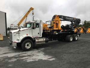 2018 Kenworth T-800 Drill Steel Manipulator